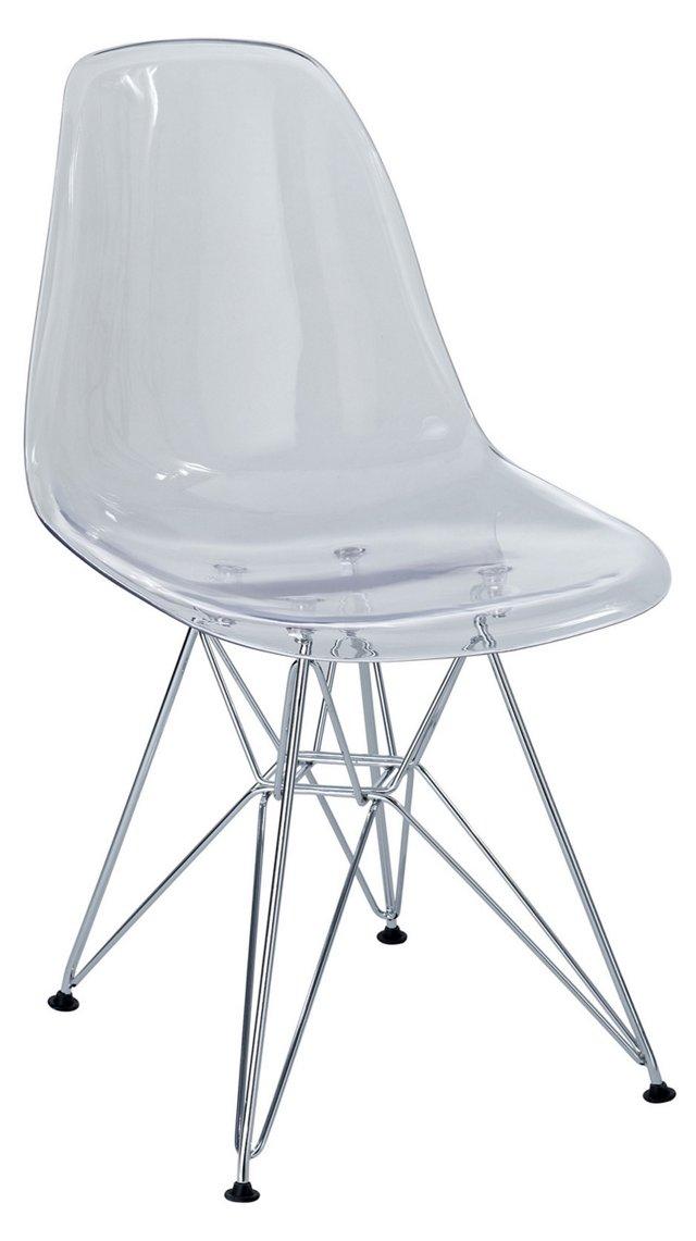 DNU, IK-Paris Side Chair, Clear