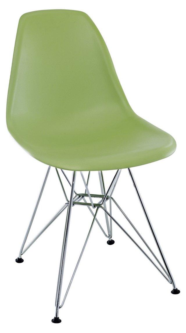 *IK Paris Wire Side Chair, Green