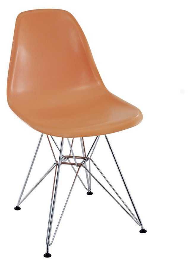 *IK Paris Wire Side Chair, Orange