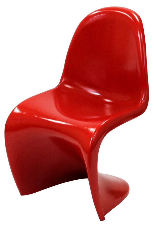 DNU, IK-Slither Chair, Glossy Red