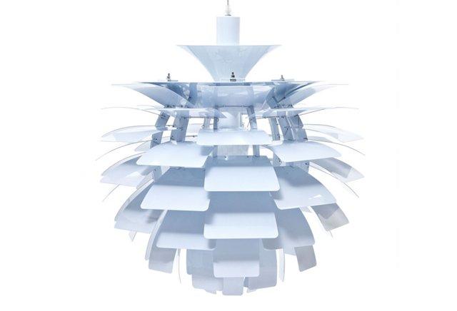 Trafton Petal Lamp, White