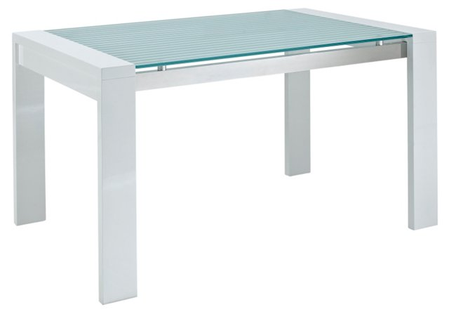 DNU, D-Kenney Dining Table, Wh