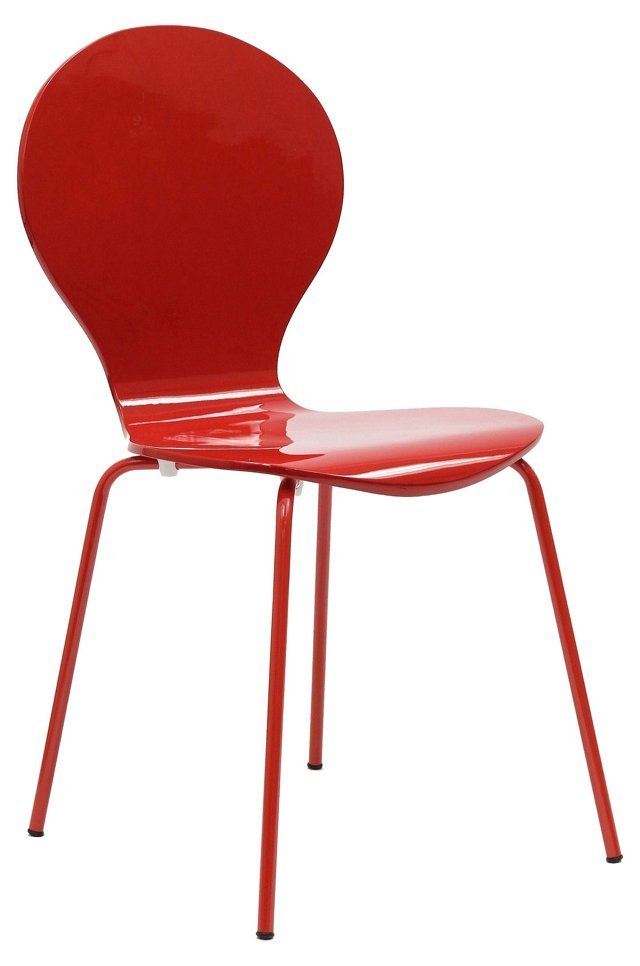 *IK Insect Chair, Glossy Red