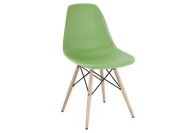 *IK Pyramid Side Chair, Light Green