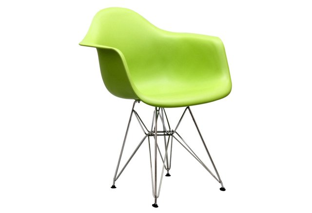 *IK Paris Wire Armchair, Green