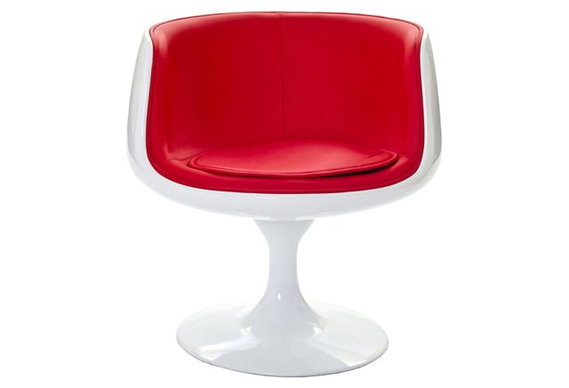*IK Cup Chair, Red