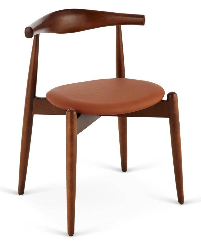 Stalwart Dining Side Chair, Tan