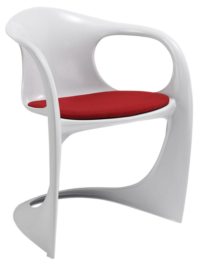 Sequence Dining Armchair, Red