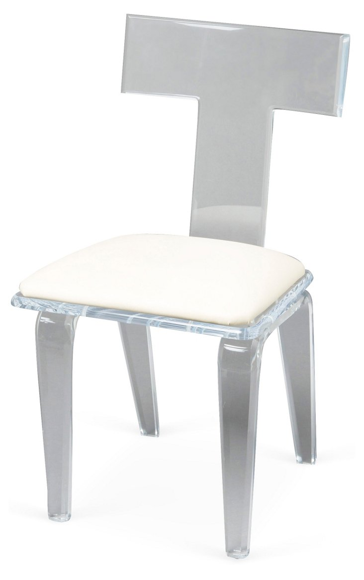 Scout Dining Chair, White