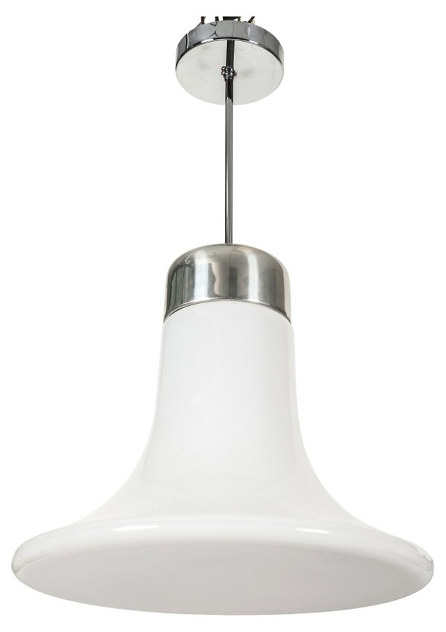 Murano Vistosi Glass Pendant Lamp