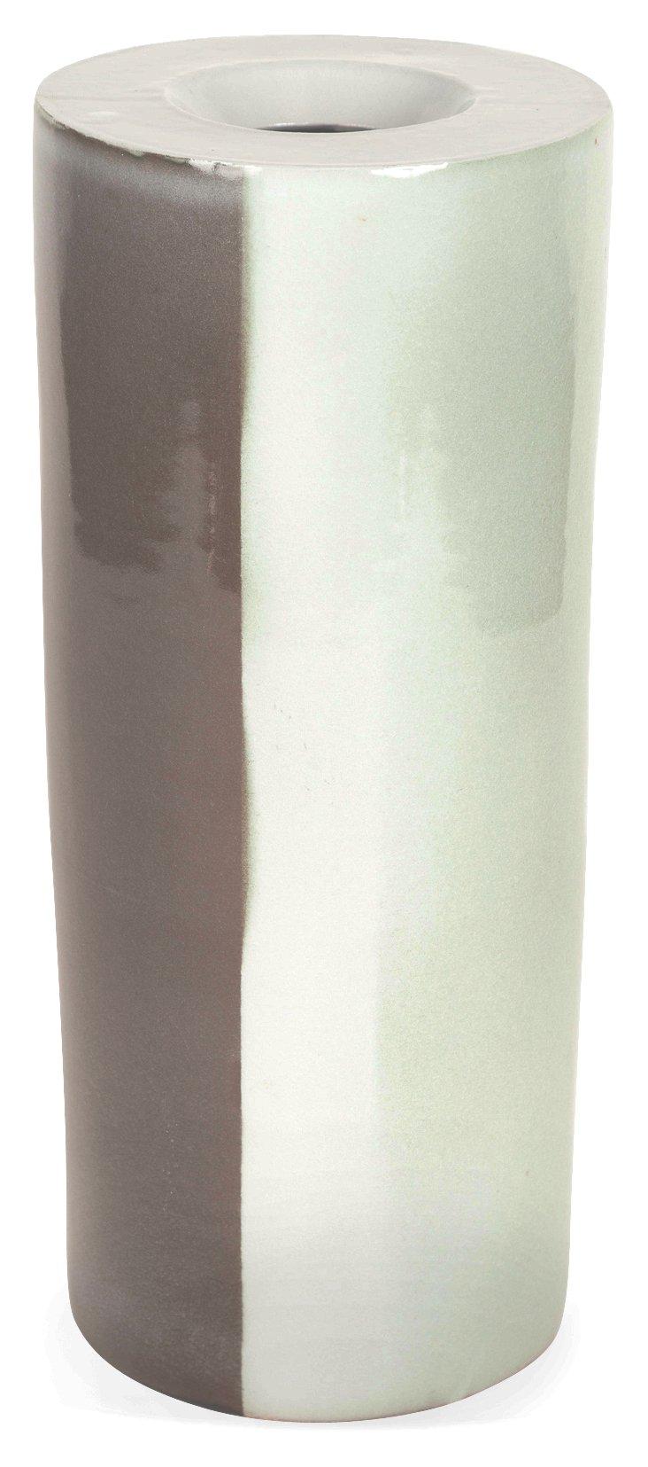 Gradient Glaze Studio Ceramic Vase