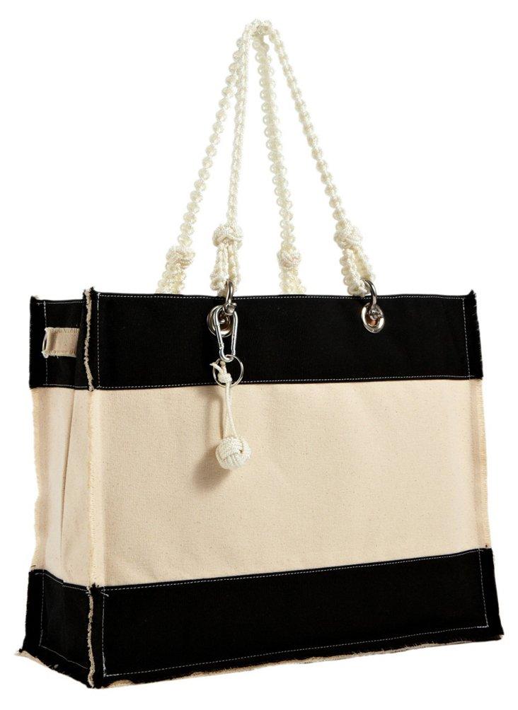 Bosun Canvas Bag, Black