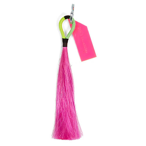 Technical Tassel Key Chain, Pink