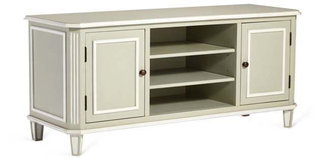 Mable Media Cabinet, Moss Gray