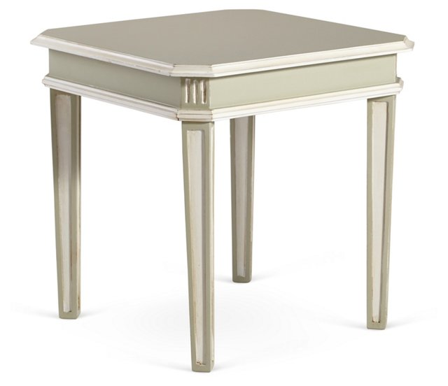 Liv Side Table, Moss Gray