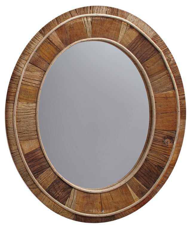 Cooke Wall Mirror, Natural