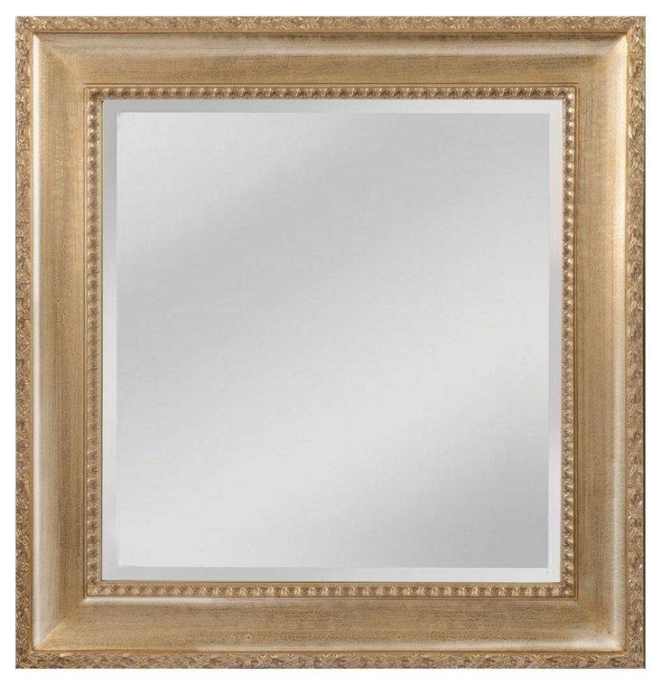 "40"" Clayton Mirror, Light Walnut"