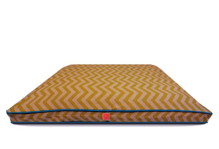 Lombard Street Bed, Tan/Cream