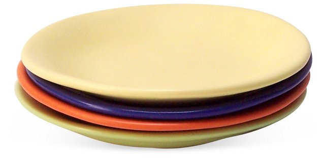 Bread Plates, Set of 4