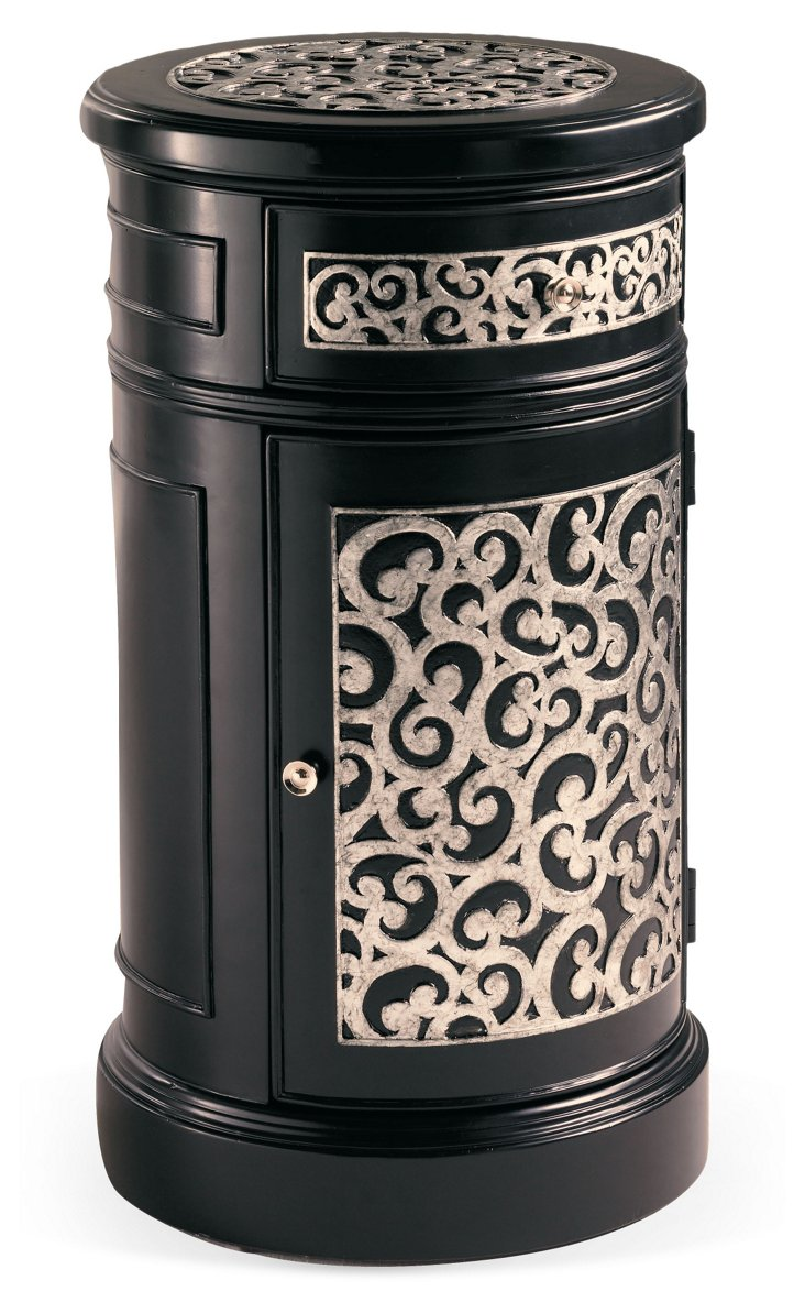 DNU,DiscJeweler's Touch Drum Nighstand