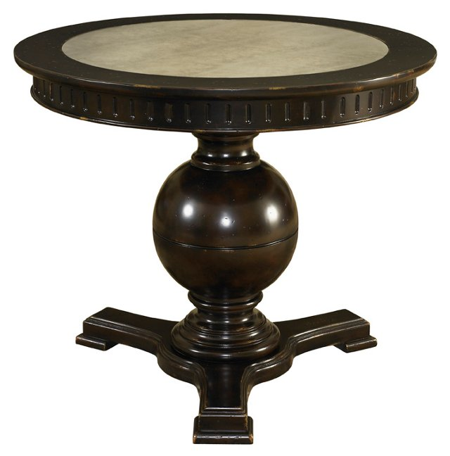Marigot Antiqued-Mirror Center Table