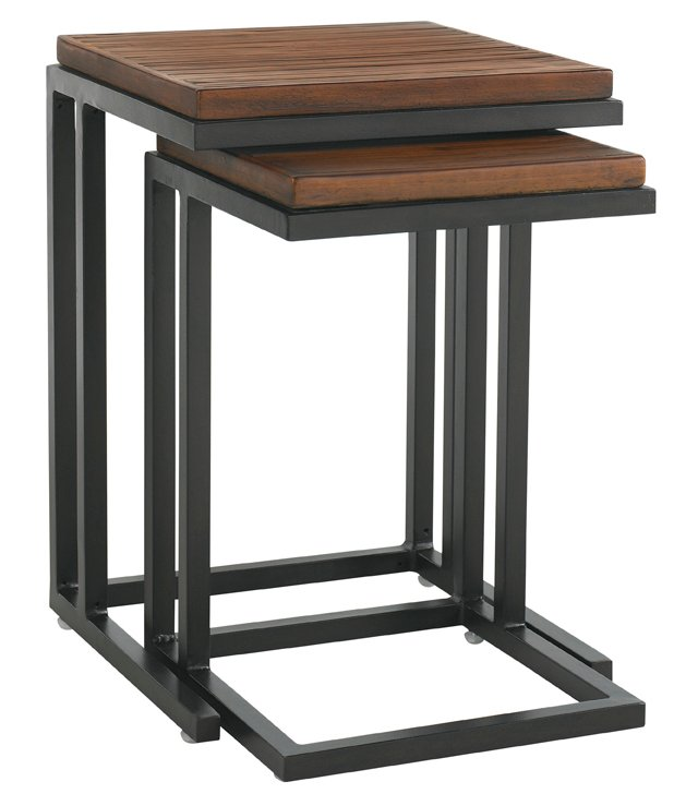 Sienna Wells Nesting Tables, Set of 2
