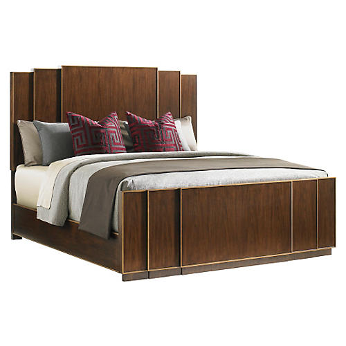Fairmont Panel Bed, Walnut