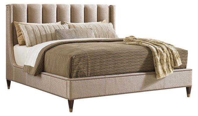 Pearl Barrington Upholstered Bed, Queen
