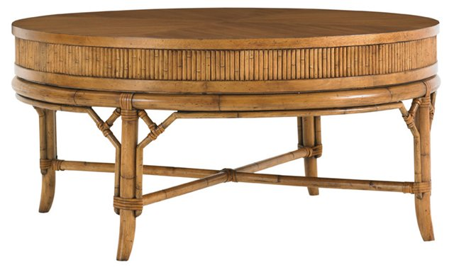 Oyster Cove Round Cocktail Table