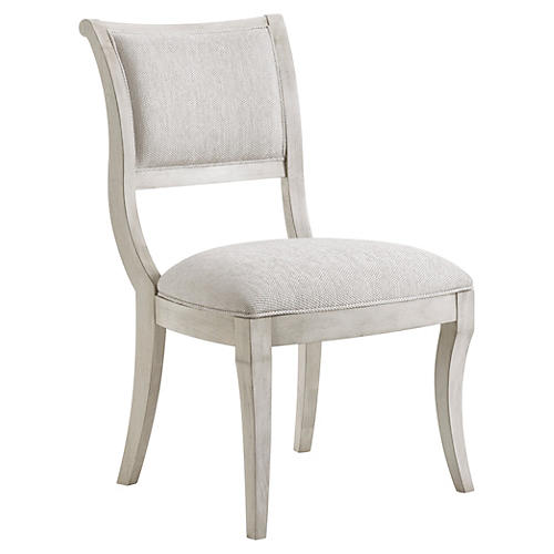 Eastport Side Chair, Light Gray