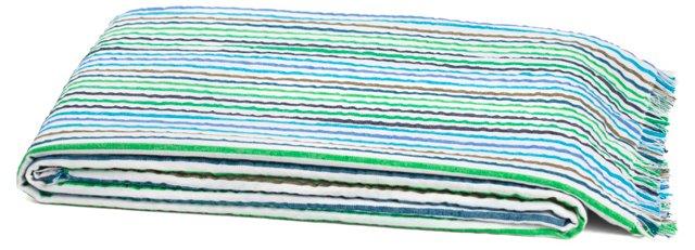 Beach Cotton Blanket, Multi