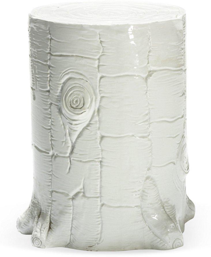 Italian Ceramic Tree Stump