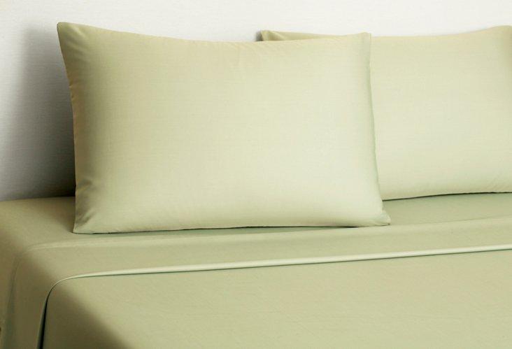 Bamboo Sheet Set, Green Tea