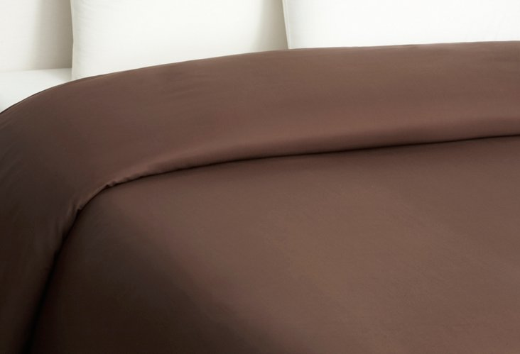 Bamboo Dreams  Comforter Cover, Choc