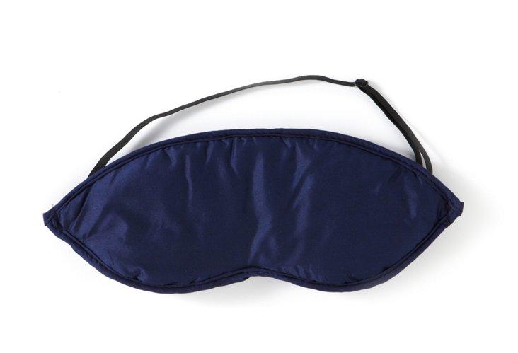 Silk Eye Mask, Midnight Blue