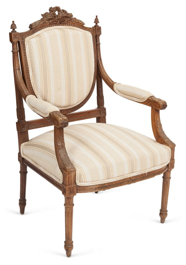 French Carved Chair