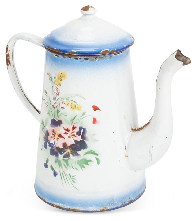 1920s French Coffee Pot
