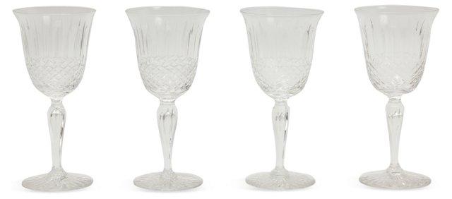 Wine Glasses, Set of 4