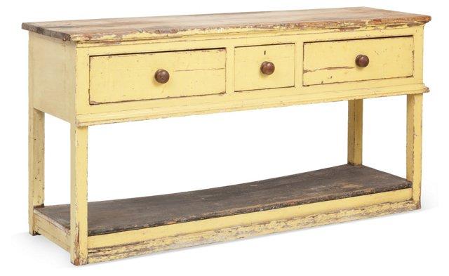 18th-C. Georgian Rustic Sideboard