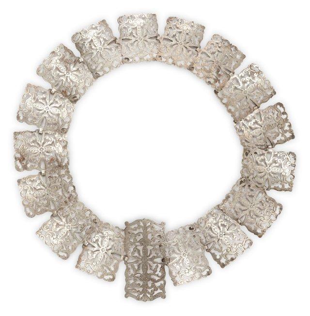Victorian Silver Belt