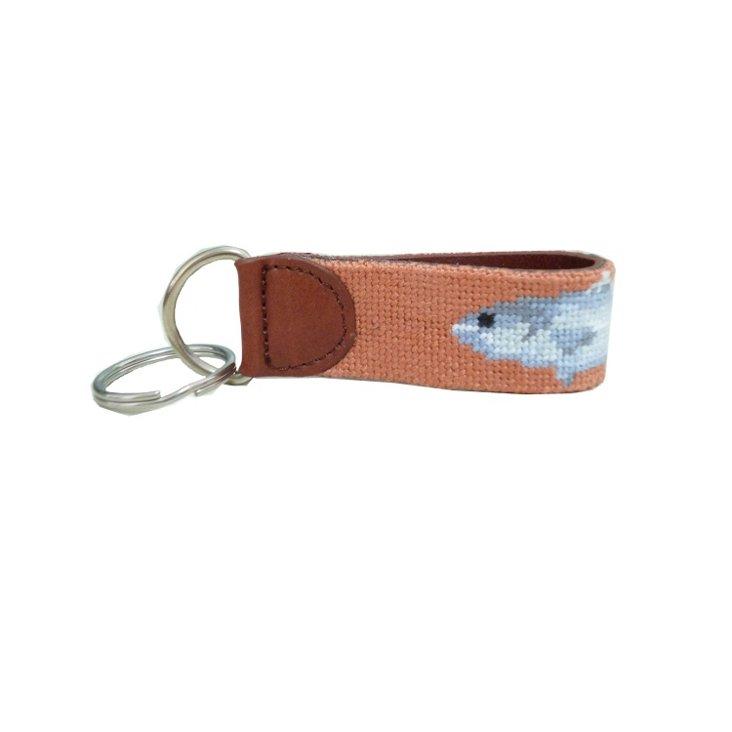 Fish Key Fob, Tan