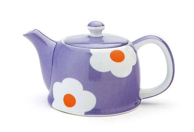 Daisy Teapot, Purple