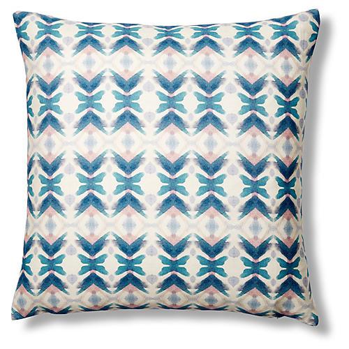 Merlo 20x20 Pillow, Blue