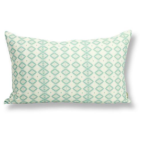 Cabo 12x20 Lumbar Pillow, Green