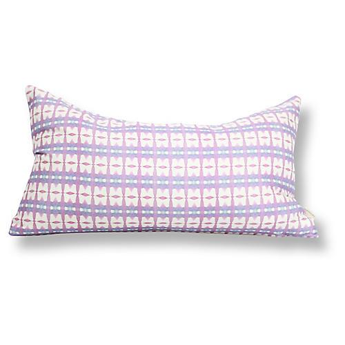 Kenitra 12x20 Lumbar Pillow, Pink
