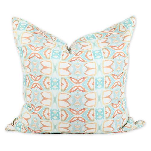Ocean Breeze 20x20 Pillow, Orange