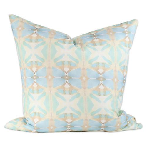 Seascape 20x20 Pillow, Green