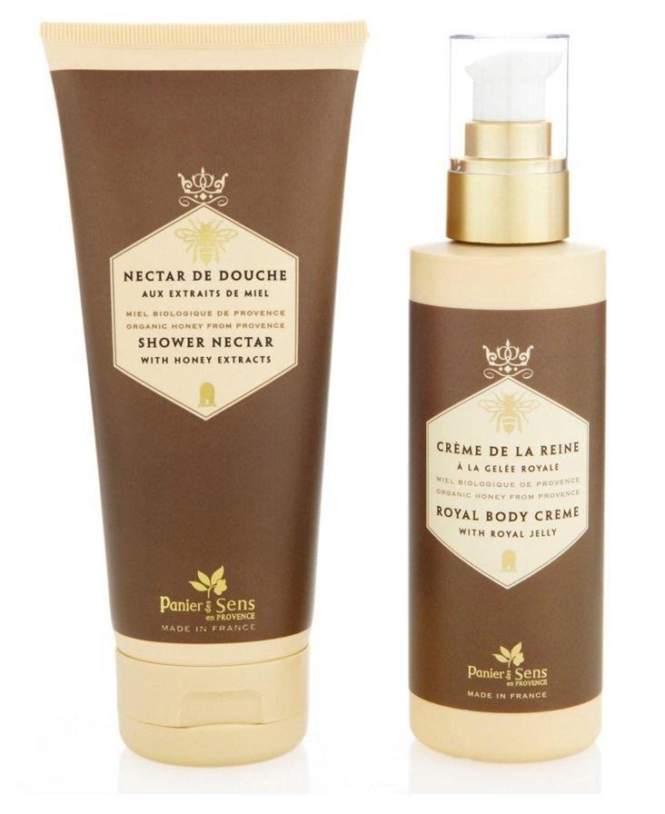 Shower Nectar & Lotion Set, Honey