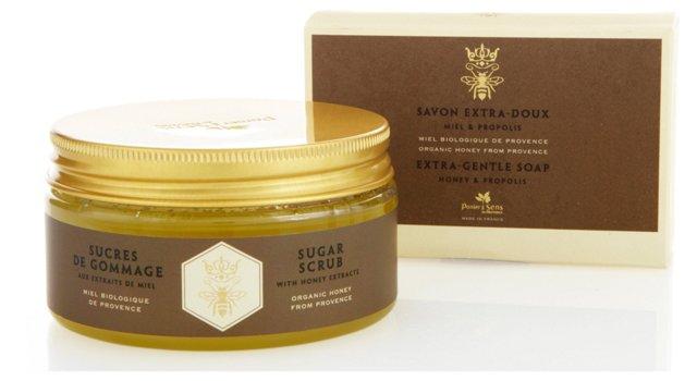 Soap & Sugar Scrub Set, Honey