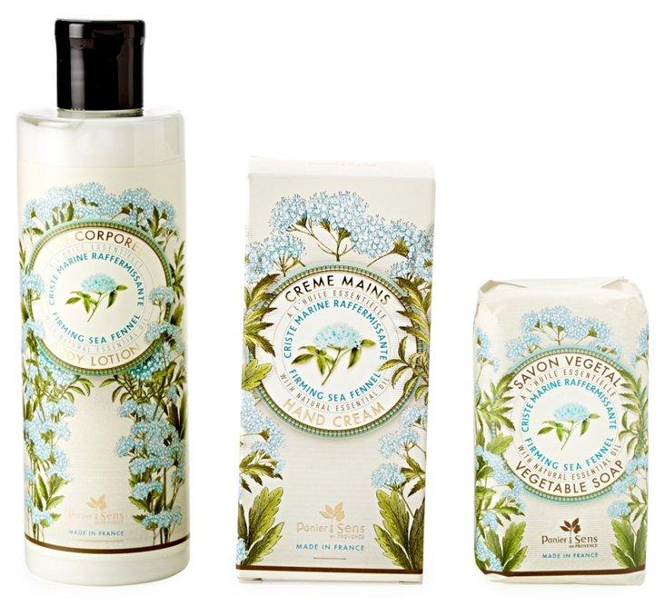 S/3 Sea Fennel Soap, Cream & Lotion